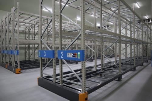 山本水産輸送 低温冷凍倉庫が完成、本社の構内で2棟目