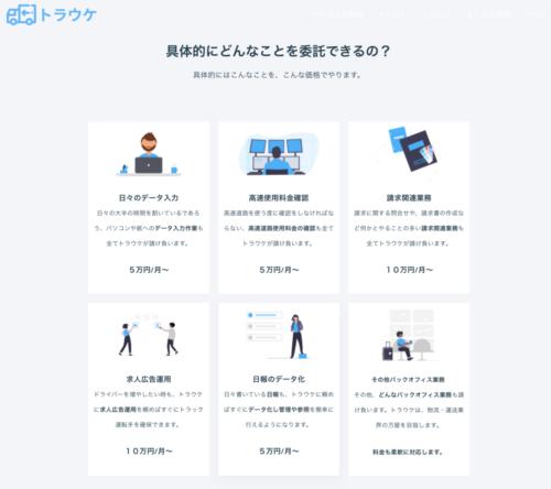 ユアルート 運送事業者向け業務代行サービス「トラウケ」 DX化の第一歩