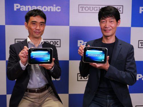 パナソニック 7.0型頑丈タブレット「TOUGHBOOK」販売