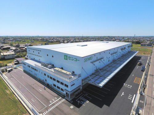 センコー 岐阜県内に同社初の大型物流センター開設