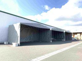 ゴーリキ 移動式伸縮大型テント、新たに3サイズ追加