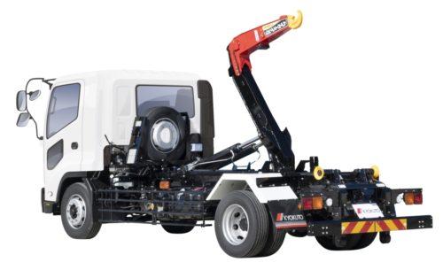 極東開発工業 新型7トン脱着ボデー車を発売
