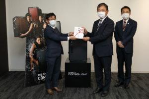 東ト協 パナソニックからマスク5万枚寄付、事業者の負担軽減に