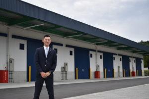 トラストエキスプレス 危険物倉庫で活躍を、初めて支店も出店
