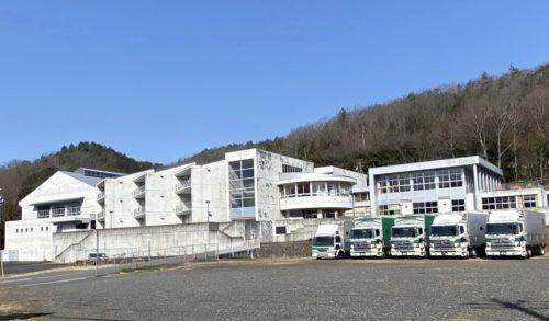 司企業の岐阜釜戸営業所 廃校舎を有効利用