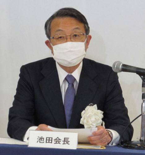 物流連が総会 商船三井の池田氏が新会長に就任