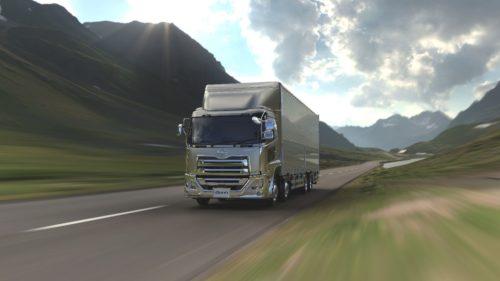 UDトラックス 「クオン」にステアリング機能 運転操作をアクティブにサポート