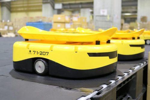 佐川グローバルロジ ロボットソーター「t-Sort」とRFIDで生産性大幅に向上