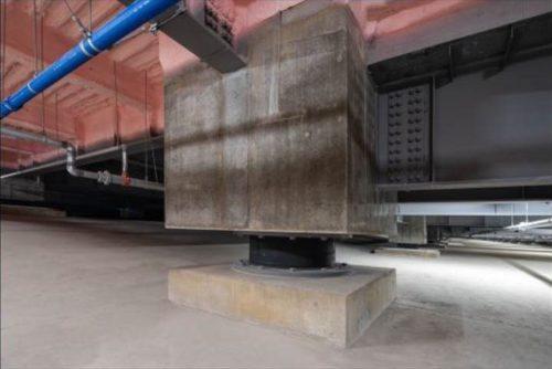 「ロジクロス」の三菱地所 防災への取り組み 免震構造も