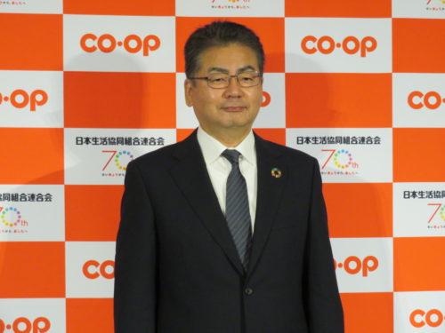 日本生協連 記者会見で重点施策や新体制紹介など