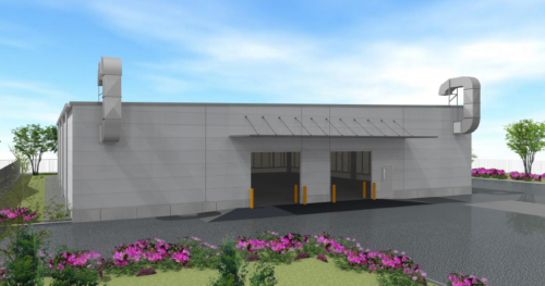 NTTロジスコ 危険物倉庫を着工