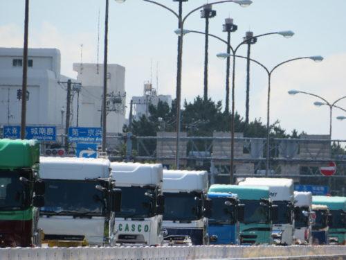 東京港コンテナターミナル 渋滞問題解消されるか