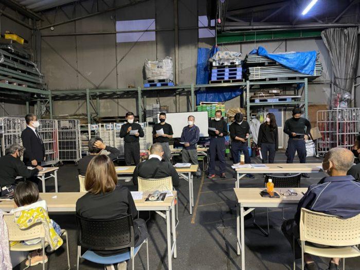 川端運輸 社内木鶏会をスタート、社員が成長できる職場環境に