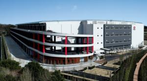 大和ハウス工業 大型物流施設を防災ランドマーク化