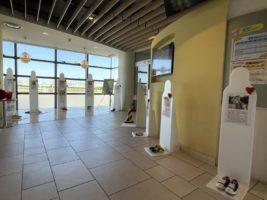 コアラドライブ安城「生命のメッセージ展」開催「ハンドルを握るということは人の命を握ること」