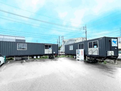 富士運輸所沢支店 トレーラハウスで営業所認可取得