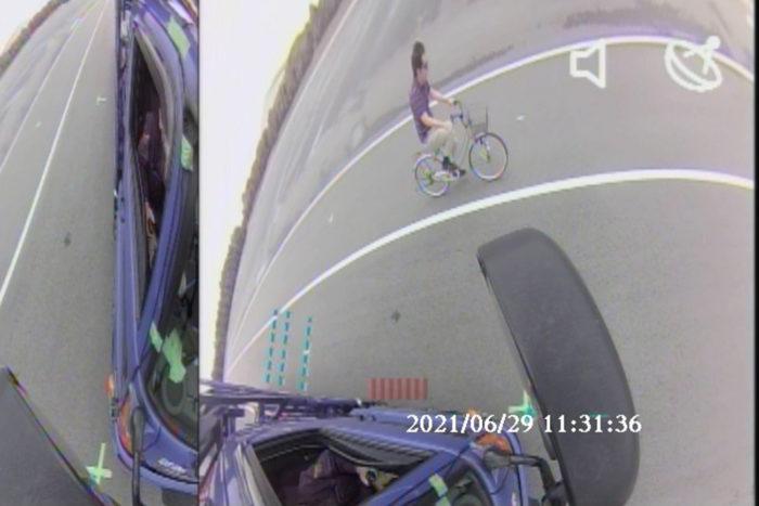 アズミー 左巻き込み事故をAIカメラが事前予測