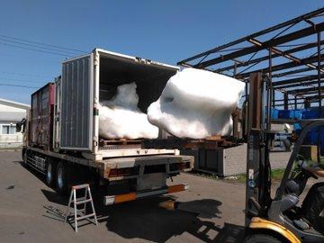 JR貨物 北海道から東京まで流氷運ぶ
