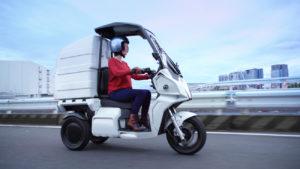 aidea 電動3輪バイクを物流事業者に提案 日本郵便、DHLジャパンも導入