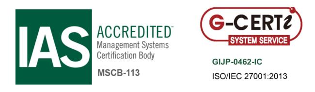 エニキャリ ISO27001認証を取得